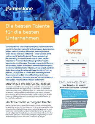 Datenblatt Recruiting