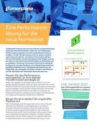 Datenblatt Performance