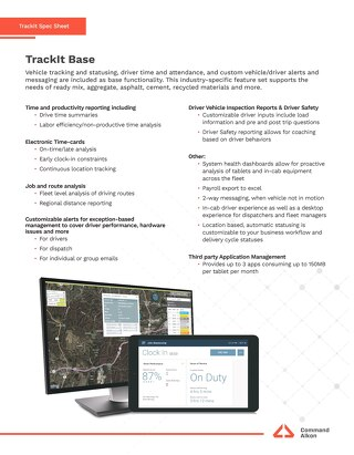 TrackIt Base Spec