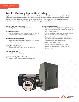 TrackIt Fleet Delivery Cycle Monitoring