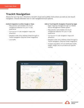 TrackIt Nav Spec