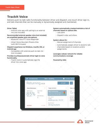 TrackIt Voice Spec