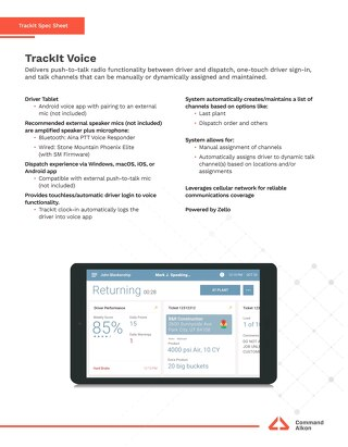 TrackIt Voice