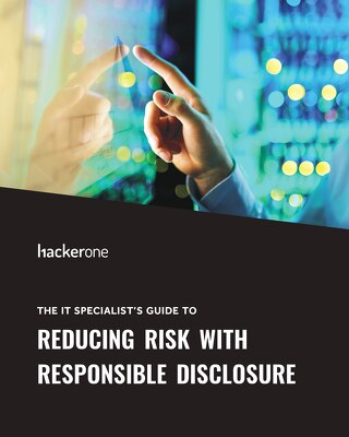 The IT Specialist's Guide To Reducing Risk With Responsible Disclosure