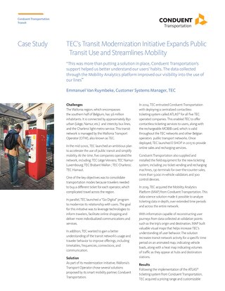 TEC's Transit Modernization Initiative Expands Public Transit Use and Streamlines Mobility