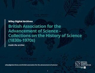 英国科学促进会-科学史收藏(1830-1970)
