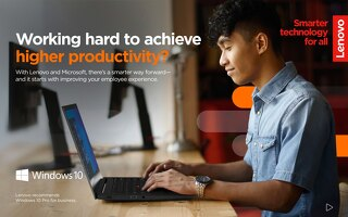 Higher Productivity with Lenovo