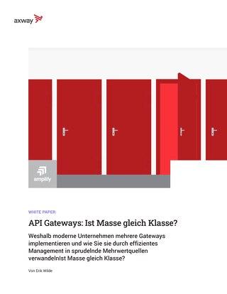 API-Gateways: Je mehr, desto besser?