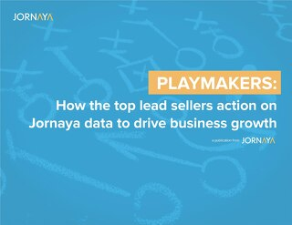 How the Top Lead Sellers Action on Jornaya Data