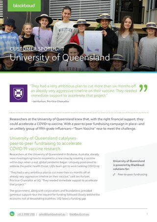 Customer Spotlight: University of Queensland