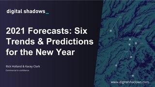 2021 Forecasts Webinar Slides