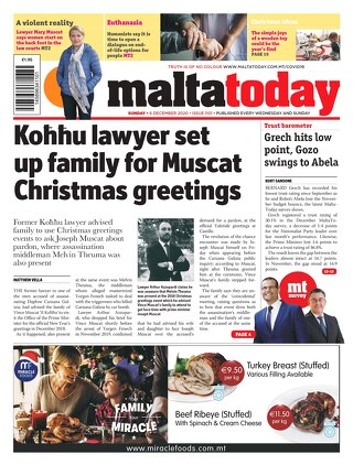 MALTATODAY 6 December 2020 new
