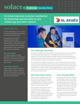 Customer Success Story: XL Axiata