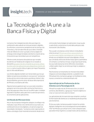 La Tecnología de IA une a la  Banca Física y Digital