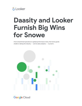 Daasity and Looker Furnish Big Wins  for Snowe