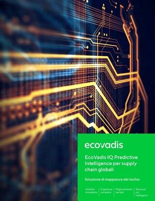 EcoVadis IQ Predictive Intelligence per supply chain globali
