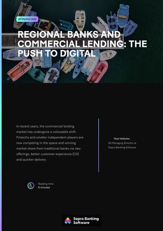In recent years, the commercial lending market has undergone a noticeable shift. Some smaller banks  are at risk of being left behind.