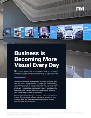 Why Digital Signage is a Key Piece of Any Communications Strategy