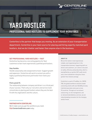 Yard Hostler Info Sheet