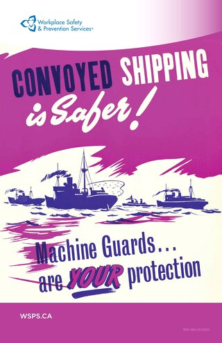 Convoyed Shipping is Safer! Machine Guards are YOUR protection