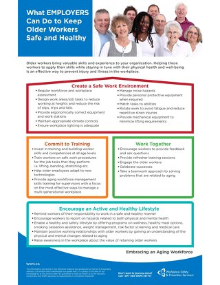 What EMPLOYERS Can Do to Keep Older Workers Safe and Healthy