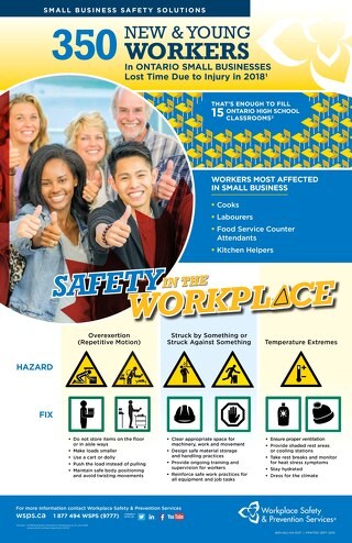 New and Young Workers Poster