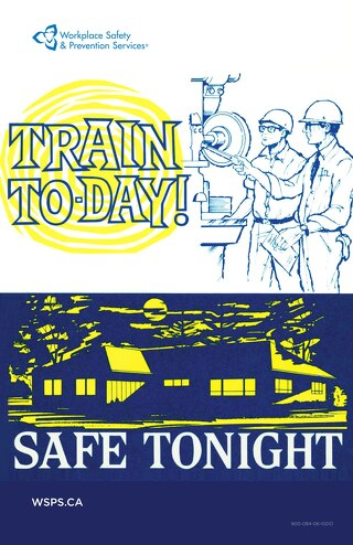 Train Today. Safe Tonight - poster