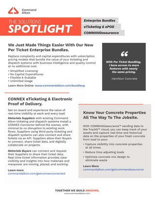 The Solutions Spotlight Q1 2021