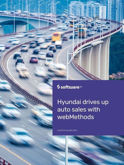 Hyundai drives up revenue & productivity using webMethods