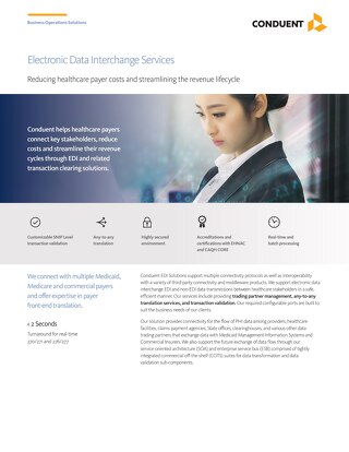 Electronic Data Interchange Services