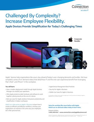 Work From Anywhere with Apple