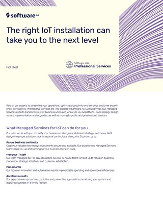 Managed Services for IoT
