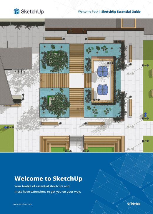 SketchUp Essential Guide - Landscape Architecture 2021
