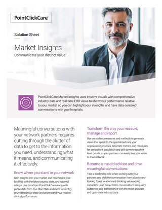 Market Insights Solution Sheet