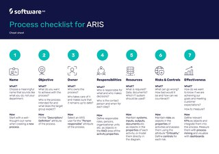 Cheat Sheet: Process Checklist for ARIS