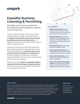 Expedite Business Licensing & Permitting
