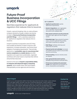 Future-Proof Business Incorporation & UCC Filings