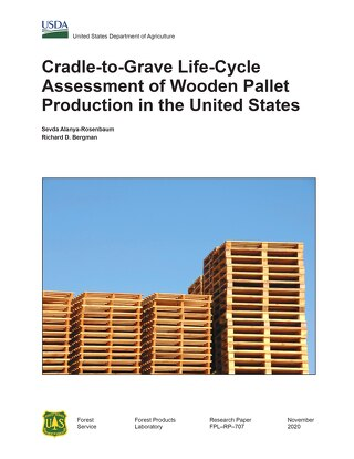 Life-Cycle Assessment of Wooden Pallet Production