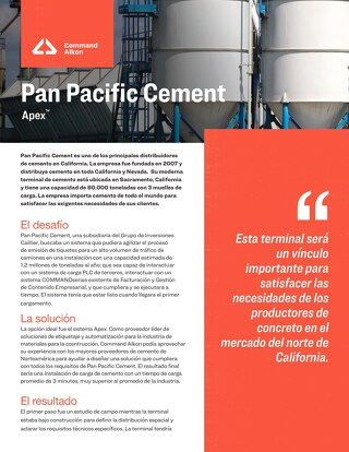 Estudio de caso - Pan Pacific Cement