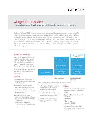 Allegro PCB Librarian XL
