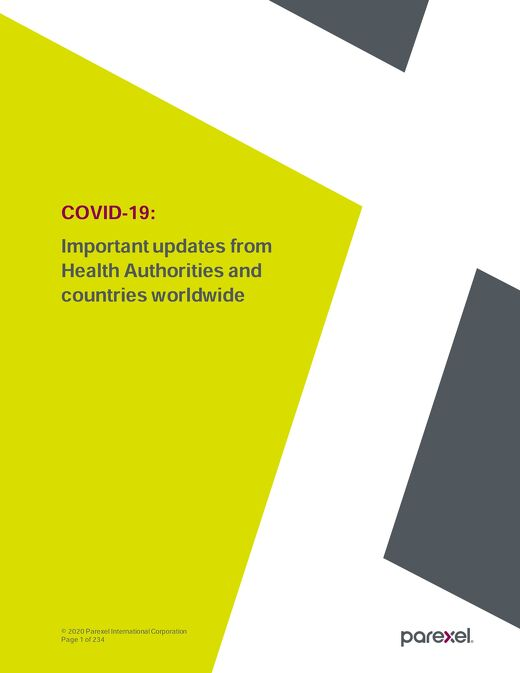 COVID-19 HEALTH AUTHORITY UPDATES 18 DECEMBER 2020