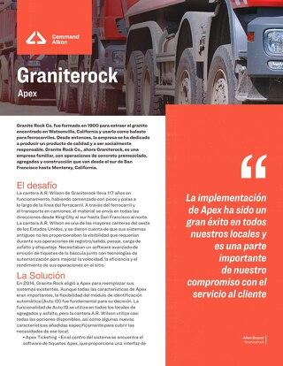 Estudio de caso - Graniterock