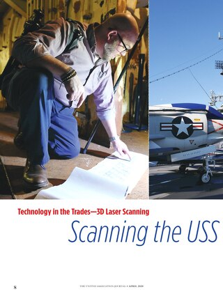 Technology in the Trades - 3D Laser Scanning Scanning the USS Intrepid