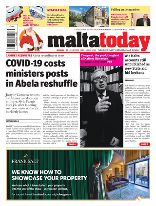 MALTATODAY 22 November 2020