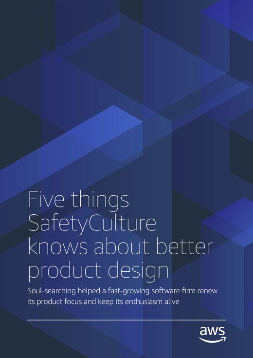 Five things SafetyCulture knows about better product design
