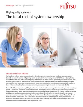 EMRs and Capture Solutions from Fujitsu