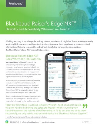 Raiser's Edge NXT - Make the Switch and Leverage Remote Capabilities