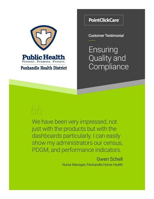 Panhandle Home Health Customer Testimonial