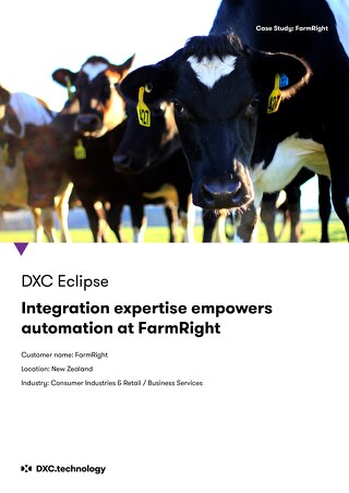 DXC Technology's integration expertise empowers automation at FarmRight