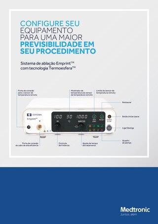 CONFIGURE SEU EQUIPAMENTO - Sistema de Ablação Emprint™